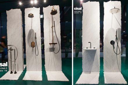 """Designer Karim Rashid ha scelto il marmo per la presentazione della nuova collezione Vita per <a href=""""http://www.cisal.it/""""target=""""_blank"""">Cisal</a>."""