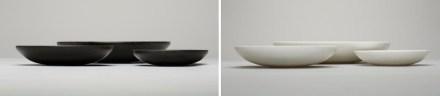 """""""Anouska Hempel and Lapicida"""": stone bowl."""