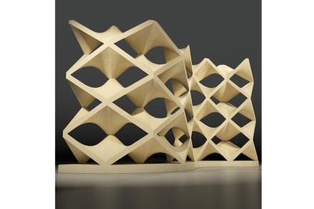 HYPARWALL by: Giuseppe Fallacara, Company: Pimar, Collaborators: Marco Stigliano, New Fundamentals Research Group, Materials: Pietra Leccese.