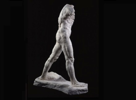 "Auguste Rodin: ""The Walking Man"", large version, 1907, patinated plaster, 218.3 x 160.2 x 74.9 cm. Paris, Musée Rodin. Photo: Musée Rodin / Adam Rzepka"