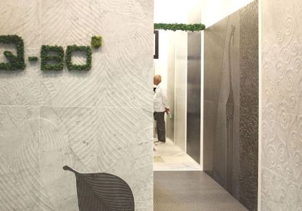 Q-BO-Project at the Bologna Cersaie Trade Fair.