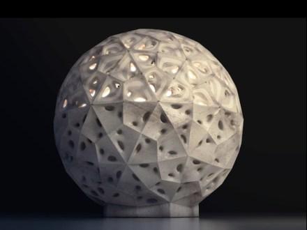 "Giuseppe Fallacara, Maurizio Barberio: ""StonePolySphere""."