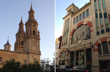 Logroño city center. Photo: Sculto