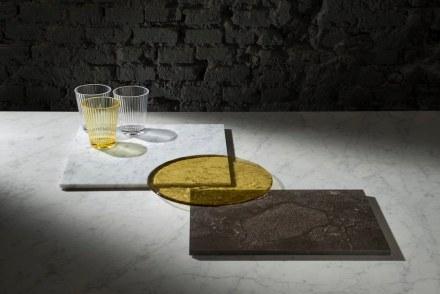 "Salvatori, Silvia Fanticelli: ""Plat-Eau Glass""."