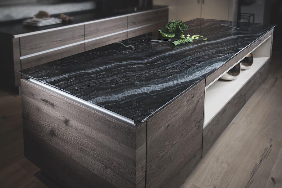 Naturstein für Küchenarbeitsplatten: keine Angst vor Farbe und ...