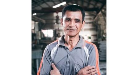 Huang Rui-Shan, founder of Shinying Enterprise Co., Ltd.