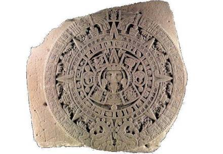 The famous Aztec Sun Stone. Source: Wikimedia Commons