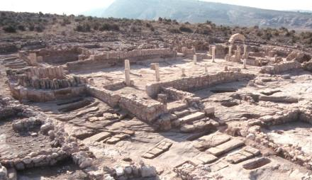 The ruins of the Basilica Tolmo de Minateda. Photo: Laclac / Wikimedia Commons