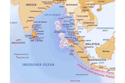 Das Beben vor Sumatra am 26. Dezember 2004. Quelle: Manfred Werner / Wikimedia Commons