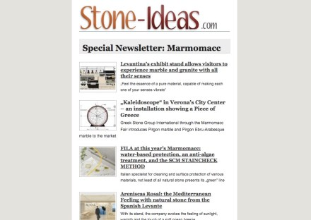 Special Newsletter: Marmomac(c).