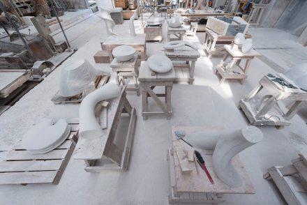 Studio in Servezza. Photo: Q. Bertoux