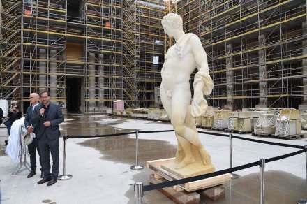 Der neue Antinous. Foto: Stiftung Humboldt Forum im Berliner Schloss