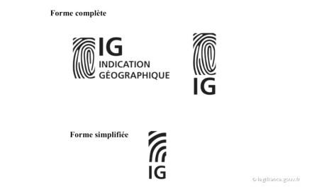 Das Logo der Geschützten Ursprungsbezeichnung.