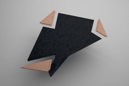 "Citco 2017: Daniel Libeskind, dining table ""El Lupo""."