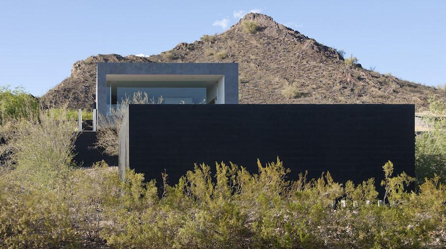 Dialog House is located on Phoenix, Arizona's outer perimeter at the foot  of Echo Mountain, i.e. on the rim of the Phoenix Mountains Preserve.