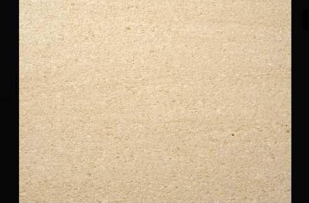Areniscas Rosal: Albamiel limestone, vein cut, brushed.