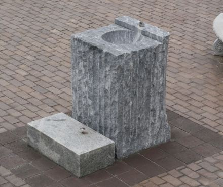 A public fountain in Atlanta, USA.