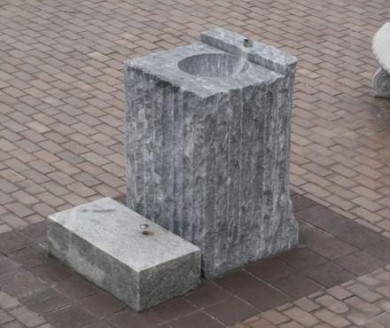 Ein öffentlicher Brunnen in Atlanta, USA.