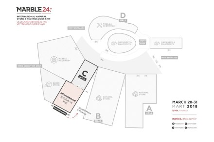 Der neue Zugang zur Halle C mit den internationalen Ausstellern.