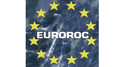 Euroroc's logo, the umbrella organization of the European Natural Stone Representatives.