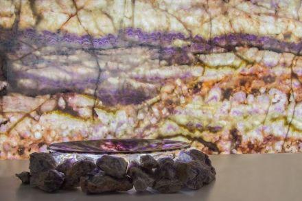 """""""Ametiste"""", crystal quartz by Nova Aurora Company."""