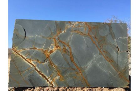 """Azure"", super exotic granite by Vulcano Export company."
