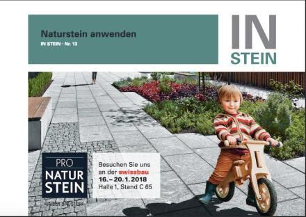 """Broschüre """"InStein"""" Nr. 13."""