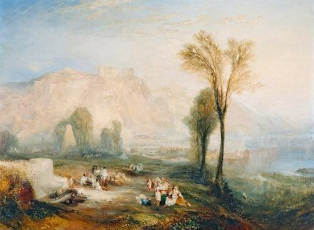 "William Turner: ""Ehrenbreitstein"" (1835). Foto: Wikimedia Commons."