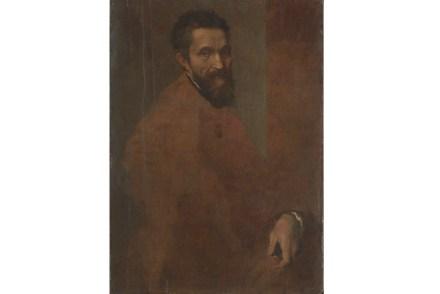 """Michelangelo Buonarroti"" by Daniele da Volterra, probably ca. 1544. Oil on wood. The Metropolitan Museum of Art."