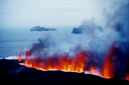 System of fire-emitting mountains. Photo: Webpage