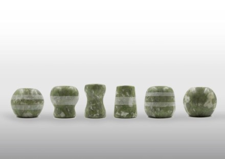 "Bold Design: Candle Holders ""Pupa""."