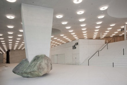 "Eric Hattan: ""Unverrückbar"" (Unmovable), Basel."