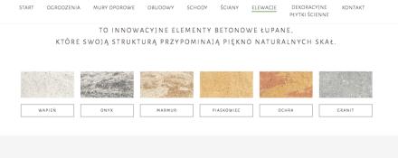 """Die polnische Firma Ziel-Bruk hat Betonfliesen, die nach ihren Farben zum Beispiel """"wapien"""" (Kalkstein) oder """"piascawiec"""" (Sandstein) heißen."""