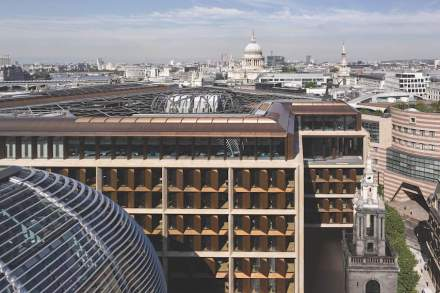 Foster + Partners: Bloomberg Headquarters, London.