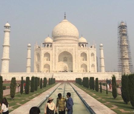Das Taj Mahal im Jahr 2017. Foto: Toni Hütz