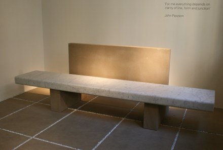 "Fuorisalone: John Pawson Span for <a href=""https://www.salvatori.it/""target=""_blank"">Salvatori</a>."