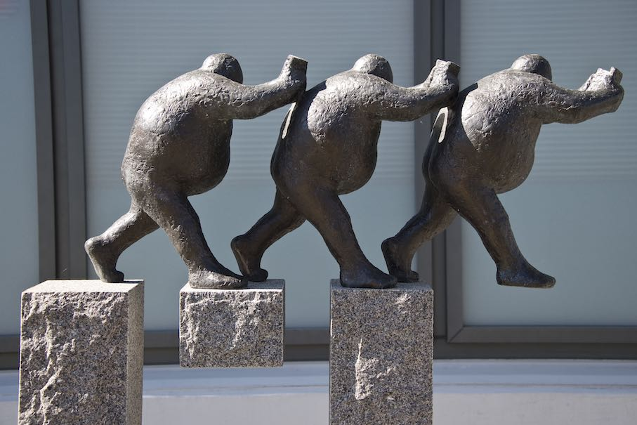 Swiss triennal of sculpture in Bad Ragaz and Vaduz until November 04