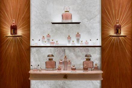 Guerlain: Boutique Vendôme. Photo: Atelier Allain Ellouz