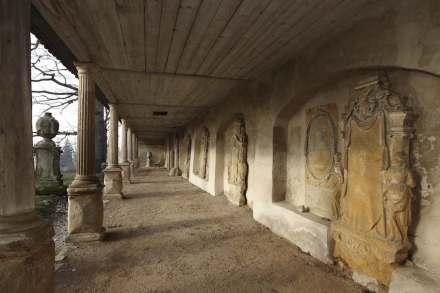 Der Camposanto in Buttstädt. Fotos: Roland Rossner/Deutsche Stiftung Denkmalschutz