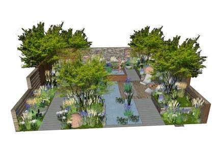 """The Silent Pool Gin Garden"". Source: David Neale"