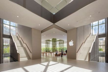 Foster + Partners: Apple Store, Macau.