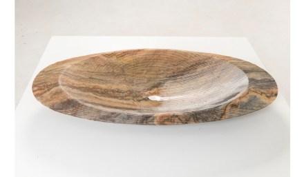 "Sink ""Navi"". Design: Ludson Zampirolli; company: Gramazini; quartzite Jacarandá."