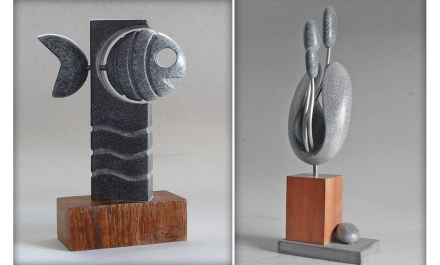 "Victor Reyes: ""Pecado"" (left), ""Zagurna"" (right)."