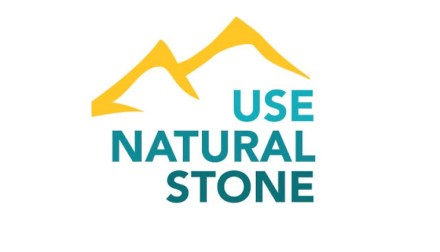 Logo of the campaign Use Natural Stone. Source: Natural Stone Institute