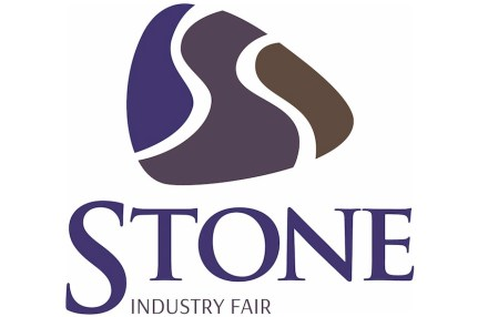 Logo of STONE fair in Poznan.