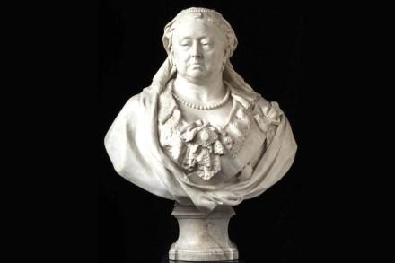 Marmorbüste der Queen Victoria, von Sir Albert Gilbert.