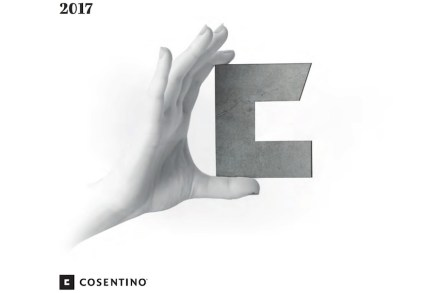 Title page of Cosentino's 2017 Corporate Social Responsibility Report.