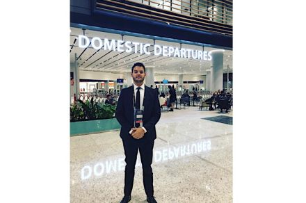 Rayner Guidoni at the new Istanbul Airport. Source: Guidoni
