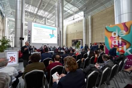 Messe Marble Izmir 2018: Vortrag.