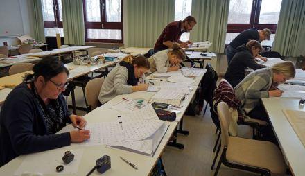 Schriftkurs am Steinzentrum Wunsiedel